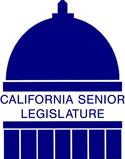 California Senior Legislature logo