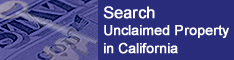State Controller Office -- Search for Unclaimed Property link